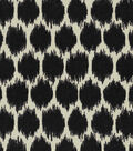 Home Decor 8\u0022x8\u0022 Fabric Swatch-Waverly Seeing Spots Noir