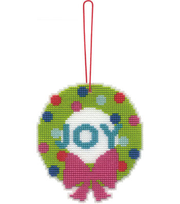Stitch Kit Ornament-Wreath