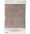 Ultimate Crafts The Ritz 12-sheet A4 Vellum Foil Papers-Bronze