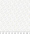 Premium Cotton Fabric 44\u0022-X Marks the Spot on White