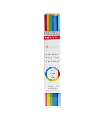 Oracal 651 Sampler Pack For Silhouette-Basics