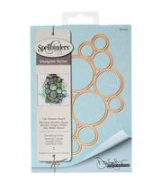 Spellbinders Shapeabilities Etched Die-Cascading Circles, , hi-res