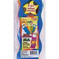 Darice Foam Door Hangers 9/Pkg-Wavy Assorted Colors
