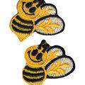 Wrights Iron-On Applique-Bumble Bees 1\u0022X1-1/2\u0022 2/Pkg