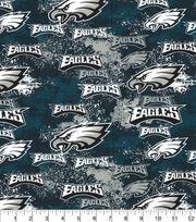 Philadelphia Eagles Cotton Fabric-Distressed, , hi-res