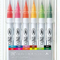 Zig Clean Color Real Brush Markers-12PK