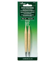 Clover Takumi Interchangeable Circular Knitting Needles Size 13/9mm, , hi-res