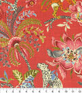 Home Decor 8\u0022x8\u0022 Fabric Swatch-Braganza Spice