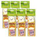 Popcorn Scented Bookmarks, 24 Per Pack, 6 Packs