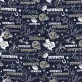 Dallas Cowboys Cotton Fabric-Hometown