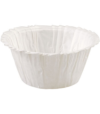 Wilton Standard Ruffle Baking Cup 24/Pkg-White