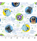 Disney Junior Puppy Dog Pals Cotton Fabric 43\u0027\u0027