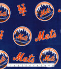 New York Mets Fleece Fabric 58\u0022-Logo