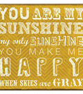 MBI 12\u0027\u0027x12\u0027\u0027 Post Bound Album-You Are My Sunshine