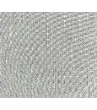 Amaretto Linen Fabric -Gray Solid