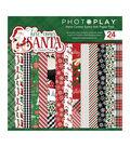 PhotoPlay Double-Sided Paper Pad 6\u0022X6\u0022 24/Pkg-Here Comes Santa