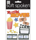 Me & My Big Ideas Soft Spoken Embellishments-Night At The Movies