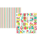 Simple Stories Hello Summer 12\u0027\u0027x12\u0027\u0027 Cardstock-Who\u0027s Ready for Summer?