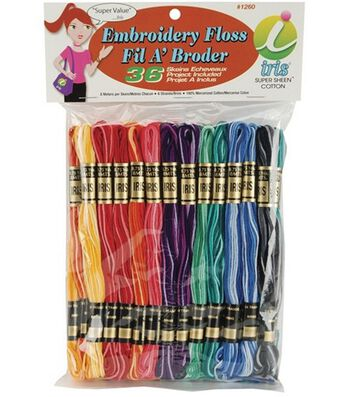 Iris Cotton Embroidery Floss 8.75yds