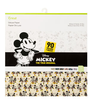 Cricut Deluxe Paper-Mickey & Friends Oh Boy