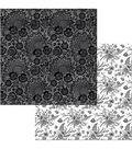 BoBunny Black Tie Affair 25 pk 12\u0027\u0027x12\u0027\u0027 Double-Sided Cardstock-Lace