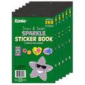 Stars & Smiles Sparkle Sticker Book 6 Books