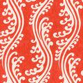 Waverly Multi-Purpose Decor Fabric 56\u0022-Turning Tides/Lantern Red