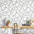 York Wallcoverings Wallpaper-Black Fracture