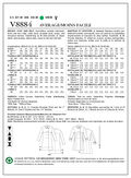 Vogue Patterns Misses Outerwear-V8884