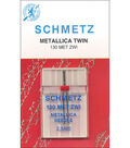 Schmetz Double Metallic Machine Needle 1/Pk-Size 2.5/80