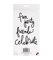 Die Cuts with a View Heidi Swapp 4 pk Word Phrases-Party, , hi-res