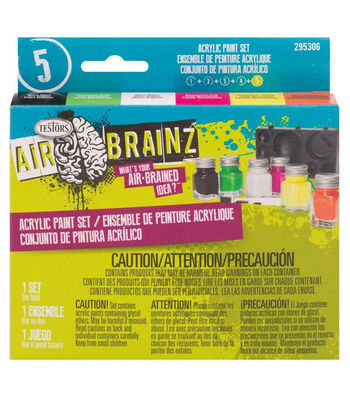 Airbrainz Acrlyic Paint Set-Flourescent