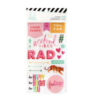 Heidi Swapp Color Fresh 916 pk Stickers-Rad, , hi-res
