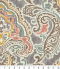 Waverly Upholstery Fabric 54\u0022-Artesanias Ikat Mineral
