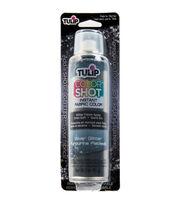 Tulip Color Shot 3oz. Instant Fabric Color Spray-Silver Glitter, , hi-res
