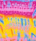 Simply Silky Print Yoryu Fabric -Tie Dye Multi