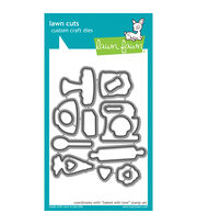 Lawn Fawn Lawn Cuts Custom Craft Die -Baked With Love, , hi-res