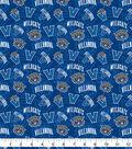 Villanova University Wildcats Cotton Fabric 42\u0022-Logos