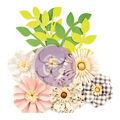 Prima Marketing Spring Farmhouse 10 pk 2\u0027\u0027 Paper Flowers-Gather