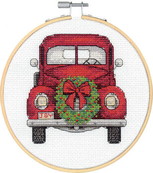 Dimensions Counted Cross Stitch Kit-Truck Large