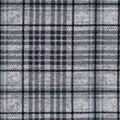 Luxe Flannel Fabric -Gray Heather Plaid