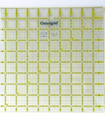 """Omnigrid Quilter's Square 9.5""""X9.5"""""""