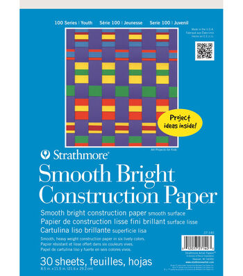 Strathmore Kids Smooth Bright Construction Paper