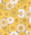 Valori Wells Cotton Fabric-Daisies Sunshine