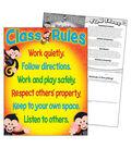 Class Rules Monkey Mischief Learning Chart 17\u0022x22\u0022 6pk
