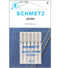 Schmetz Denim/Jeans Machine Needles 5/Pk-Several Sizes