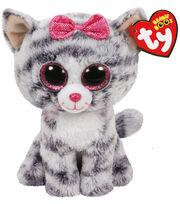 Ty Beanie Boos Regular Grey Cat-Kiki, , hi-res