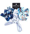 hildie & jo 3 pk Printed Hair Scrunchies-Stripes