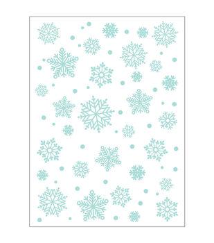 Park Lane A2 Embossing Folder-Snowflakes