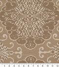Robert Allen @ Home Upholstery Swatch 54\u0022-Grand Motif Twine